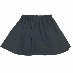 John Galt Brandy Melville Mini Skirt Rayon Chiffon